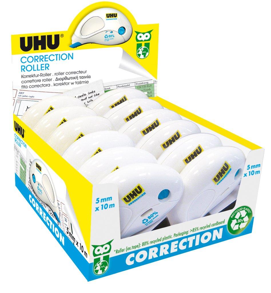 Uhu 50496–Correttore, confezione da 12 Uhu 50496-Correttore