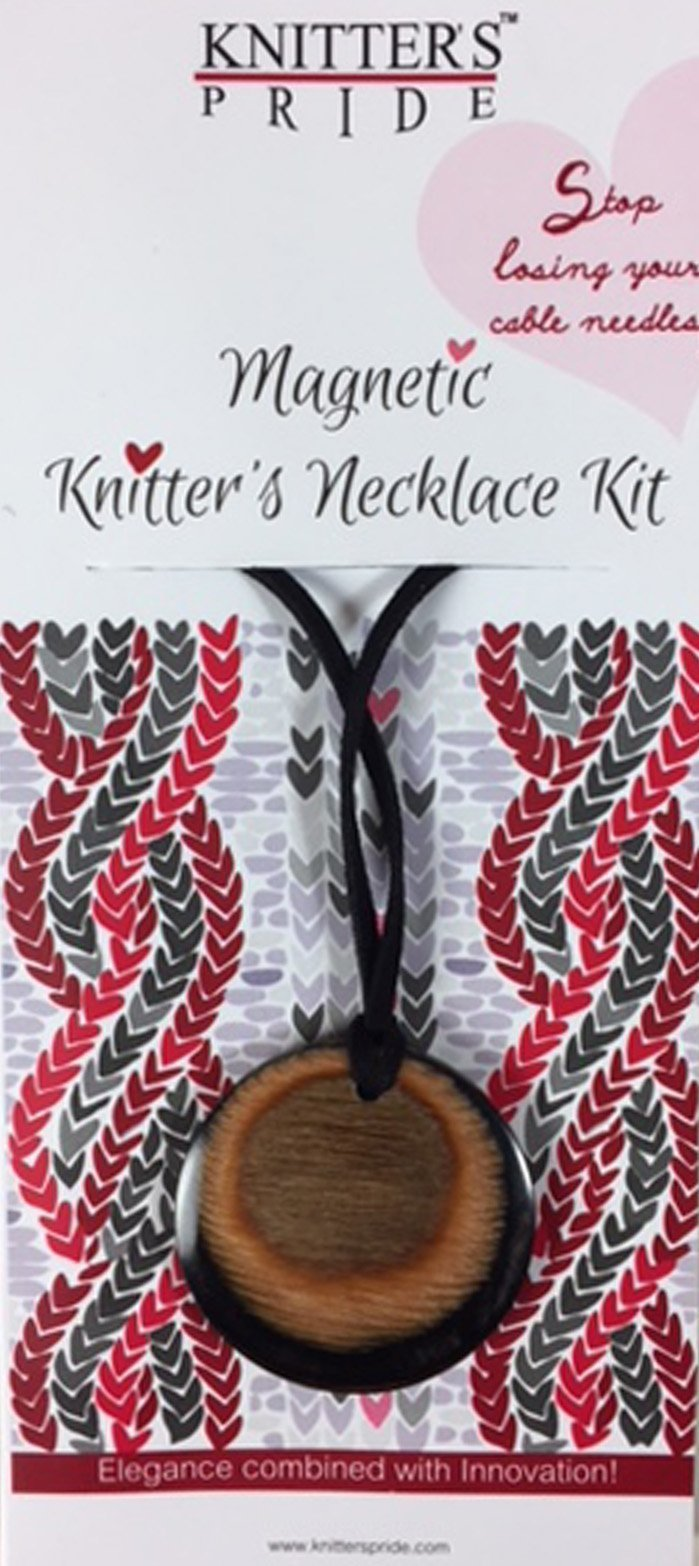 Knitter's Pride KP200609 Magnetic Knitter's Necklace-Natural Hues