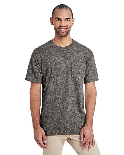a47c5c65b4d57c GILDAN H300 Hammer Short Sleeve T-Shirt With a Pocket: Amazon.co.uk ...