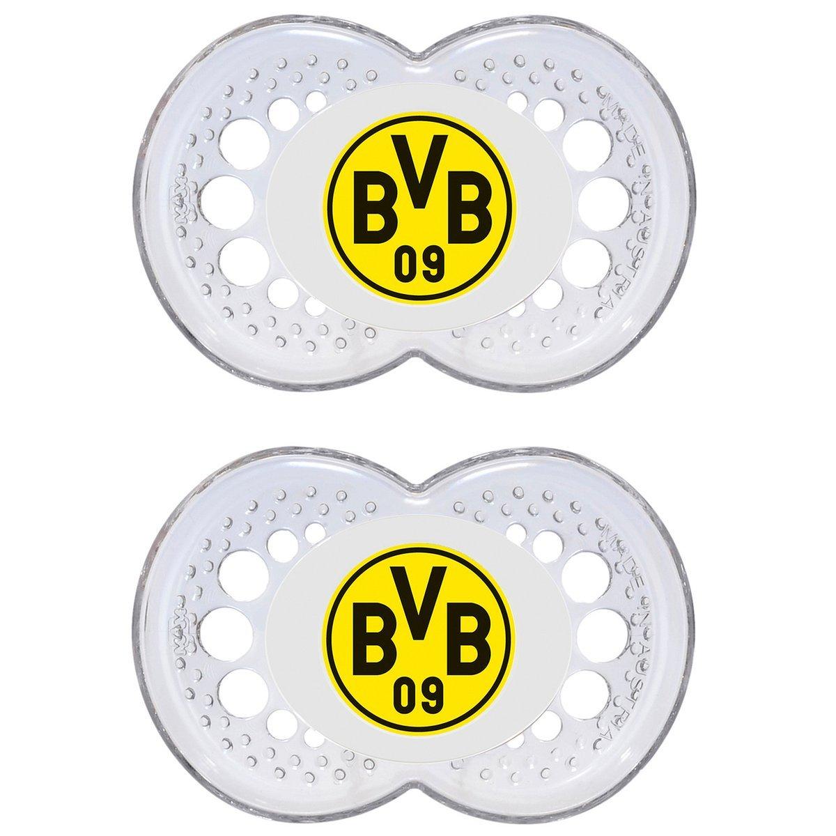 primamma 44576100 - Babyflasche Borussia Dortmund 250ml Silikon Gr. 1