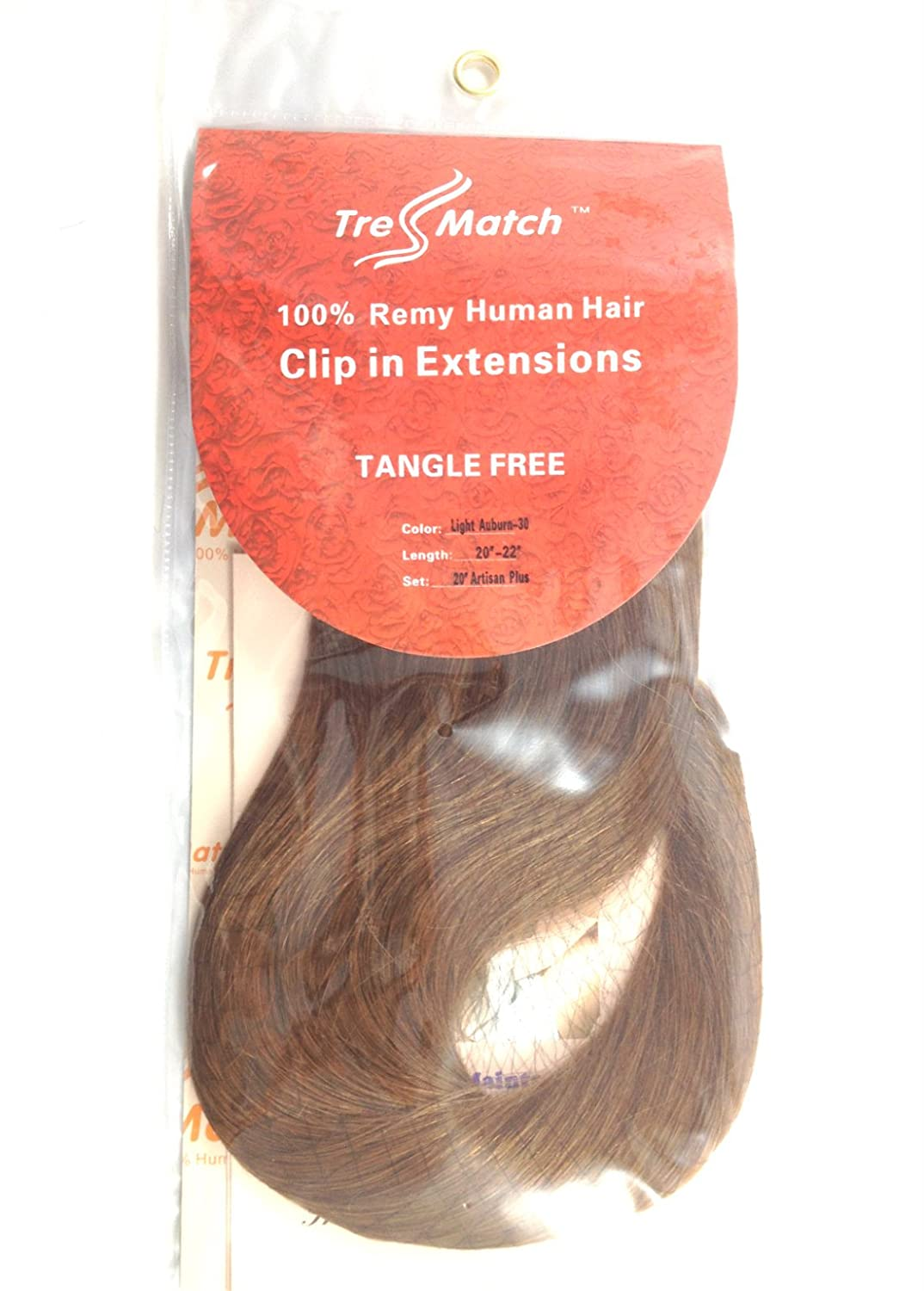 Amazon Tressmatch20 22individual Weft Of Remy Human Hair