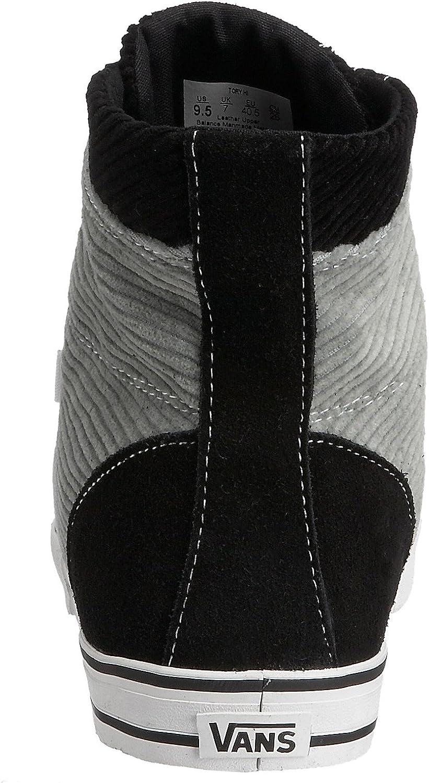 Vans Damen Casual Cord BlackGrey 35 EU: : Schuhe