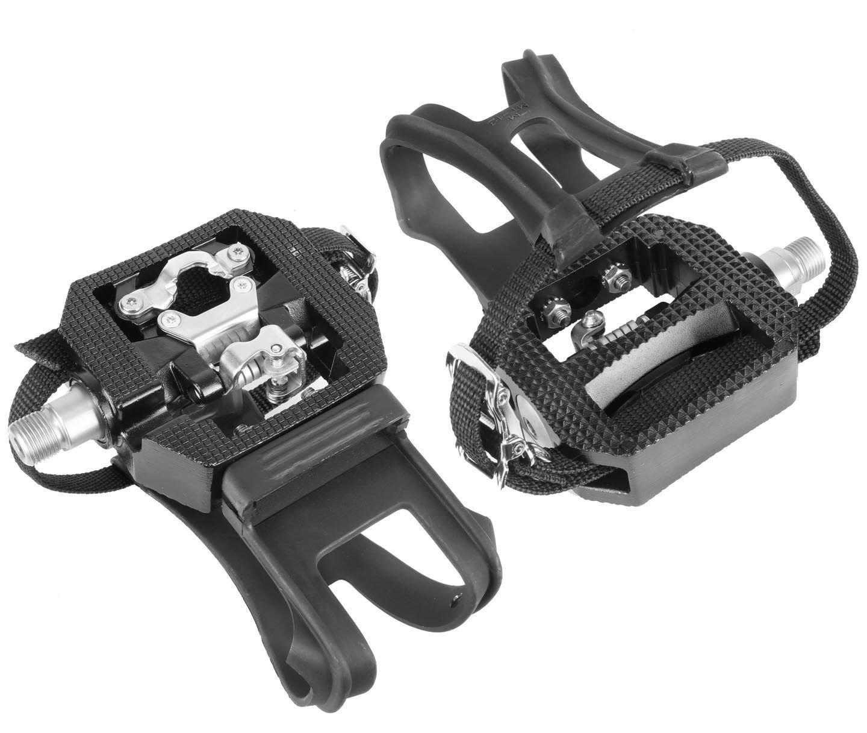 Wellgo E229 Shimano SPD Compatible 9/16'' Thread Spin Bike Pedals