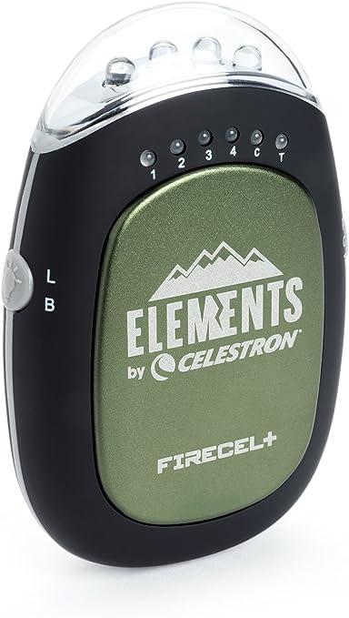 Green Celestron 93544 FireCel Plus Hand Warmer//Charger//Flashlight