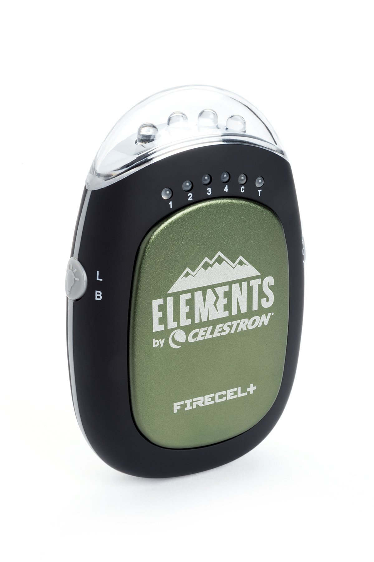 Celestron FireCel Plus - Hand Warmer/Charger/Flashlight, Green (93544) by Celestron