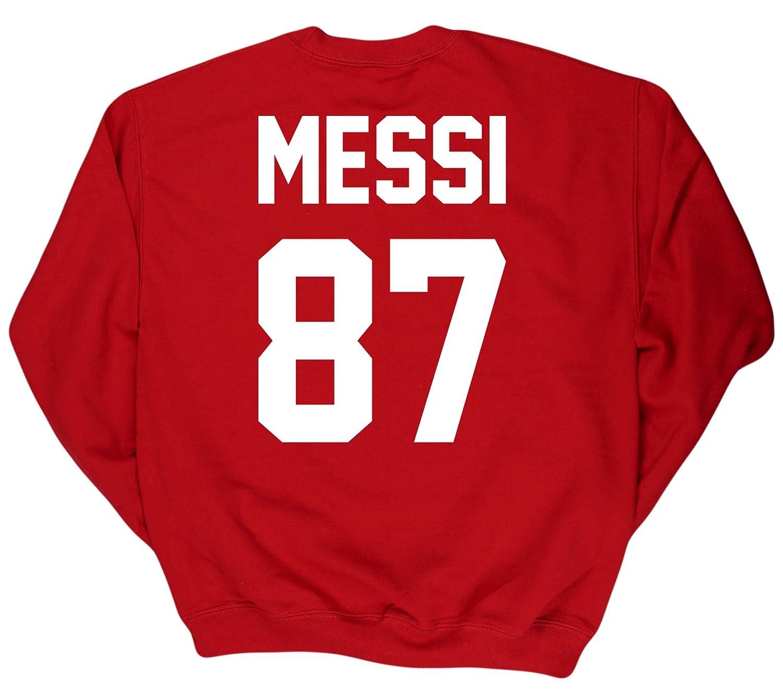 HippoWarehouse MESSI 87 (impreso en la espalda) jersey ...