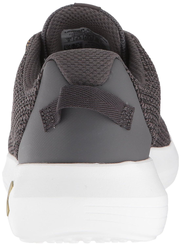 Under Armour Women's Ripple Metallic Sneaker B076RV7ZPD 8 M US|Charcoal (101)/Black