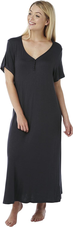 22-24 26-28 30-32 Long Plus Size Jersey Nightshirt Plain Cerise or Pink Stripe