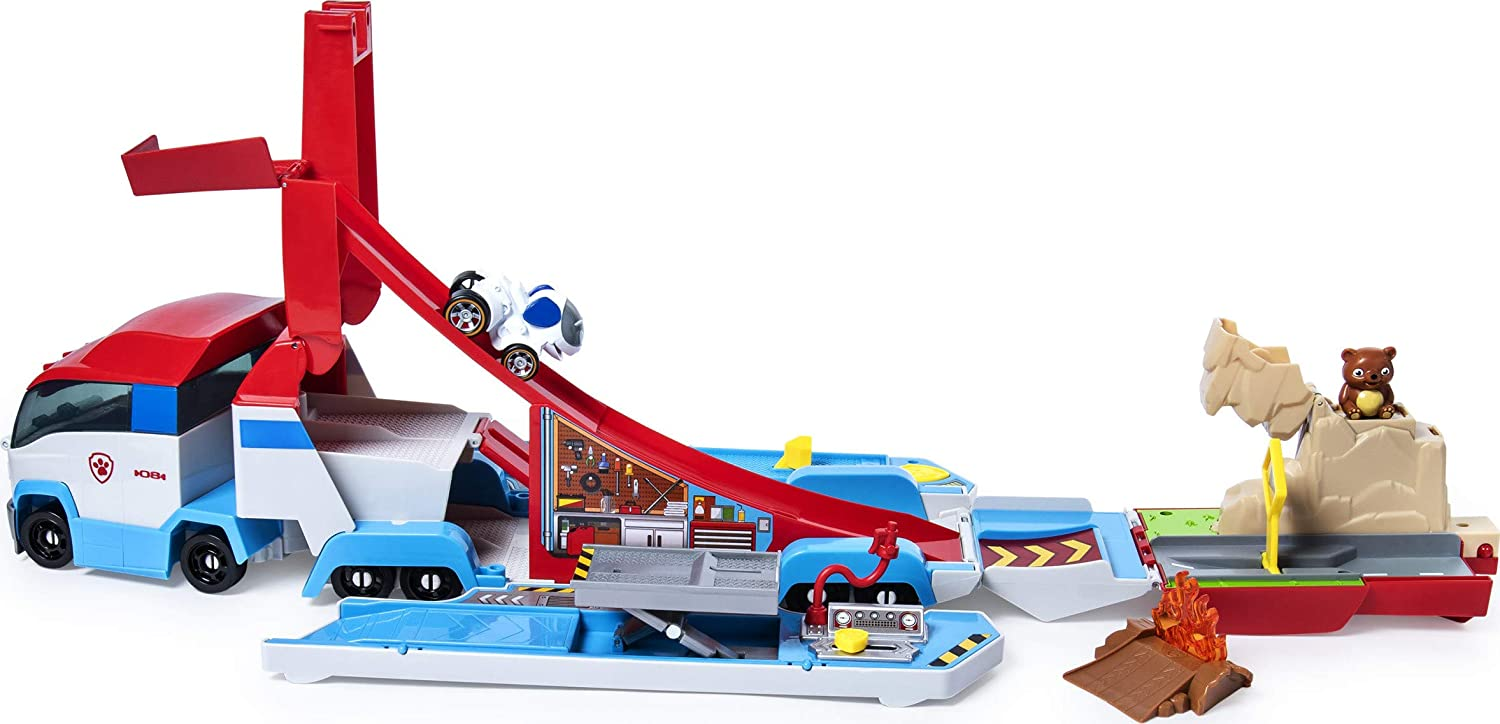 PAW PATROL - Paw DCT Diecast Launch N Hauler UPCX GML, Multicolor (Spin Master 6053406)