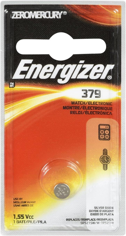 Energizer 379BPZ Zero Mercury Battery - 1 Pack