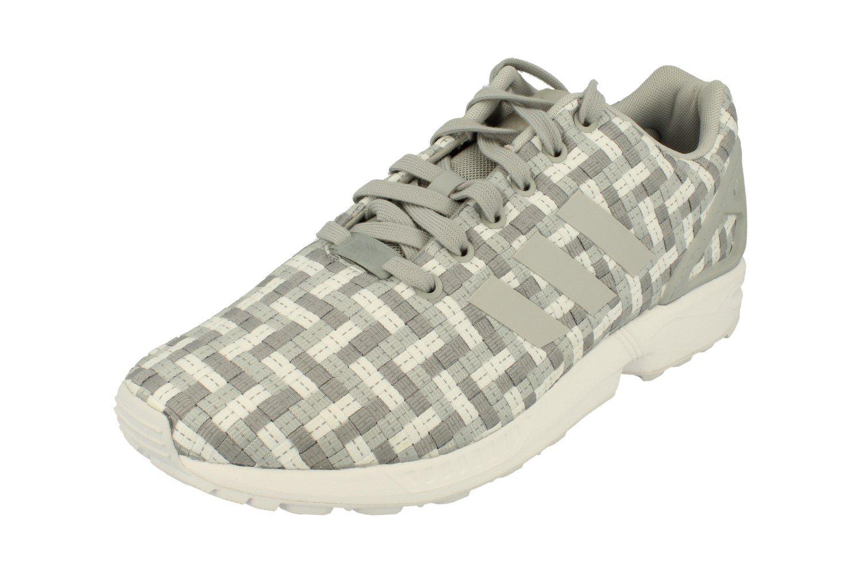 adidas Originals Zx Flux - Zapatillas para hombre 10 D(M) US Light Onix Grey White S82748