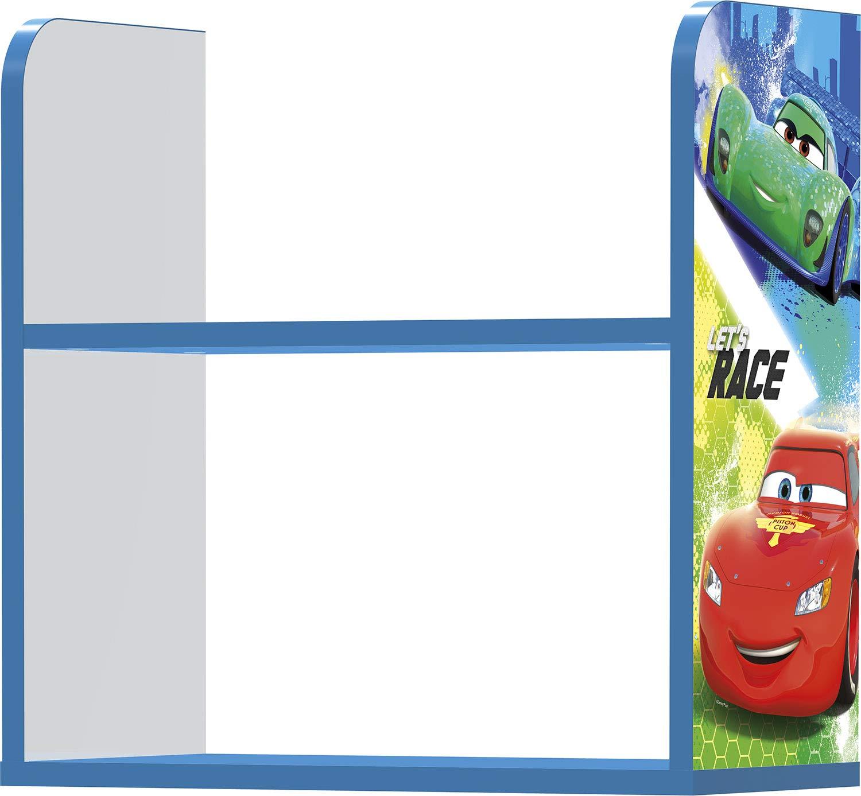 RAYO MCQUEEN CARS RACERS Disney - Varios Personajes Stor Estanter/ía Infantil Charm Dimensiones: 50 x 50 x 25 cm
