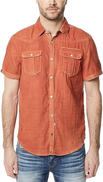 Buffalo David Bitton Mens Casual Button Up Shirt