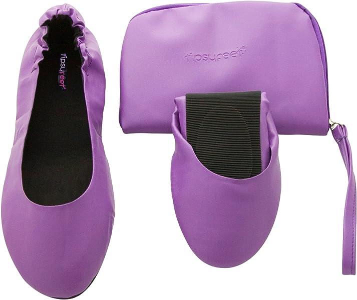 foldable shoes folding handbag shoes Tipsyfeet Fold Up Shoes