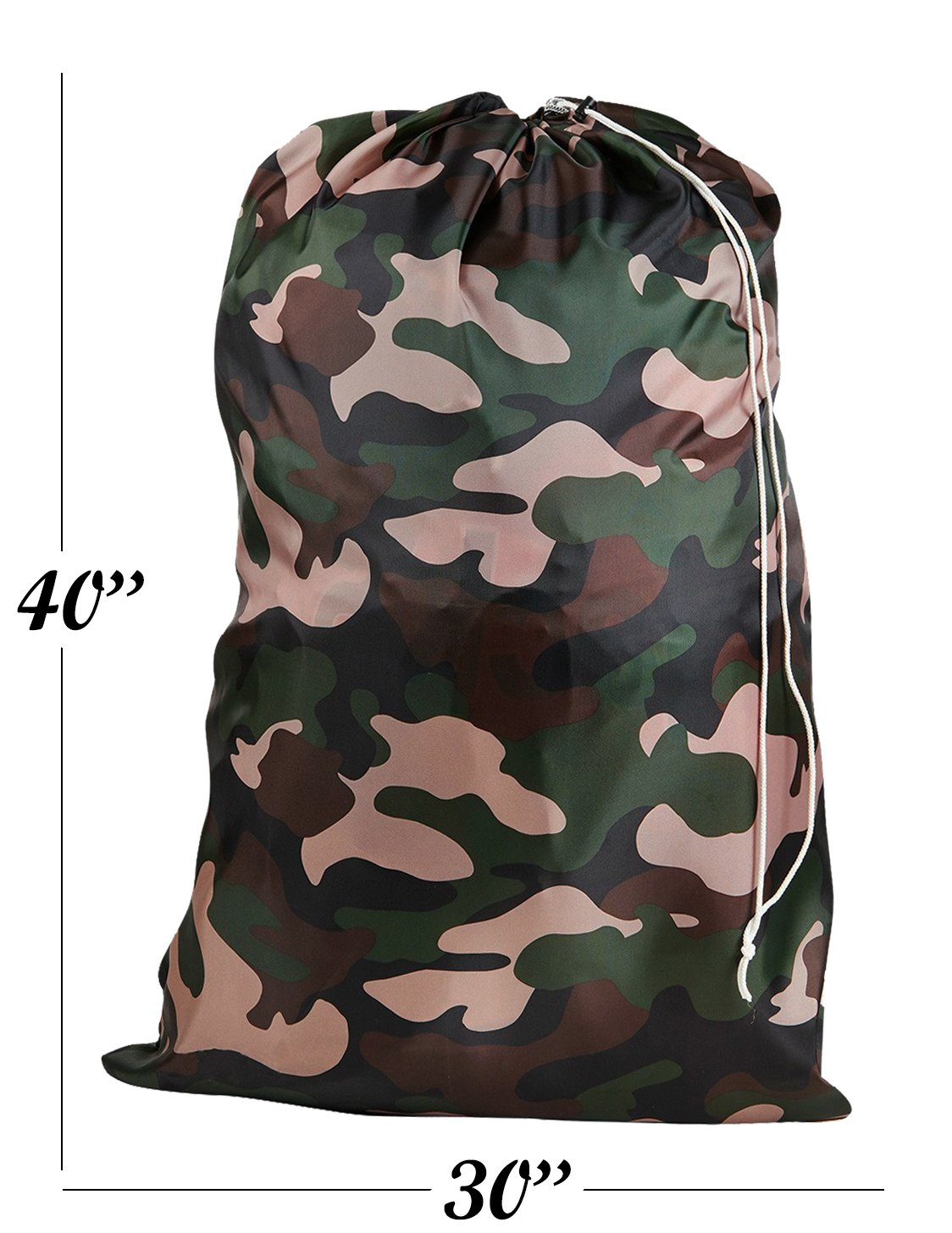 Nylon Laundry Bag - Locking Drawstring Closure and Machine Washable. These  Large Bags Will Fit a Laundry Basket or Hamper and Strong Enough to Carry  up to ... 39f1d07e96c21
