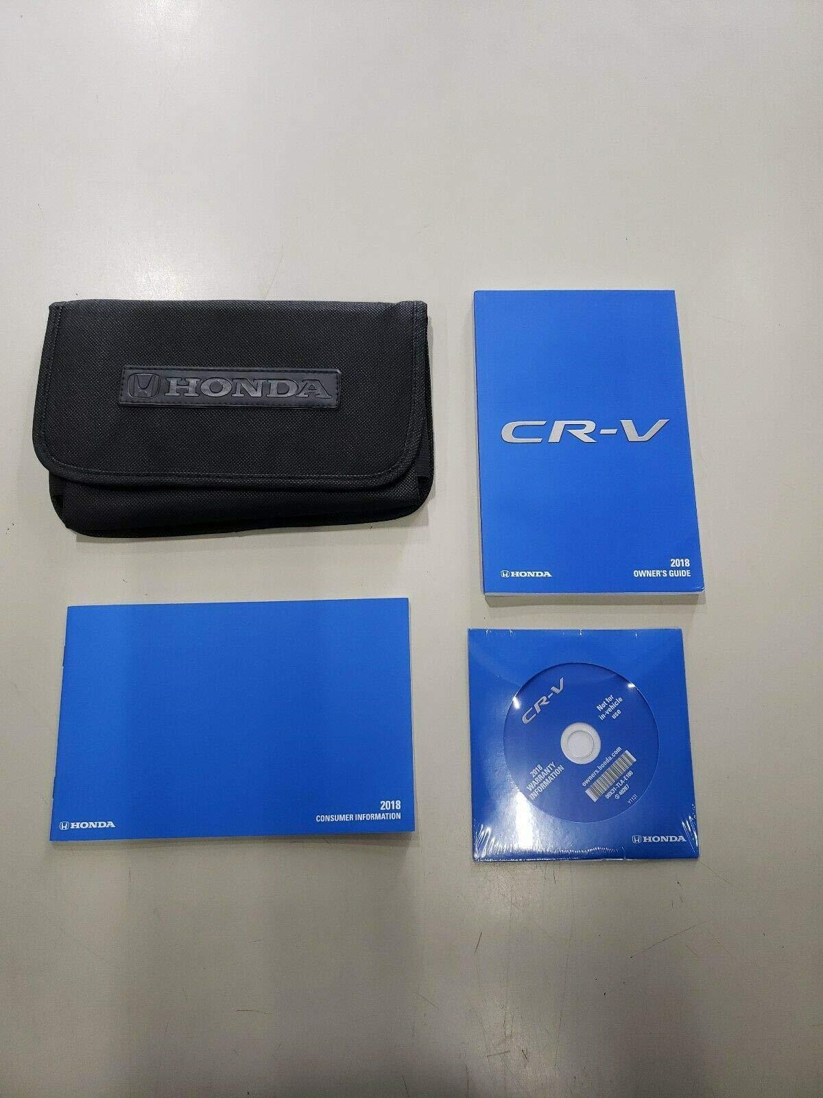 Owners Honda Com >> 2018 Honda Cr V Crv Owners Manual 18 Honda 9782990498425