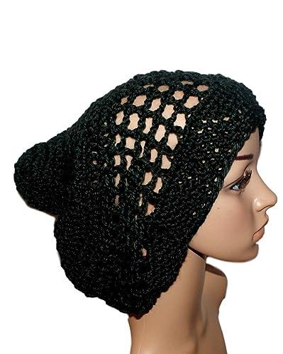 4614fd56240 Amazon.com  Woman Lightweight Black Slouch Hat