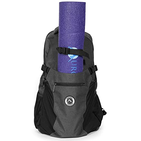 94cae79cc8652 Aurorae Yoga Multi Purpose Backpack. Mat Sold Separately (Dark Grey)