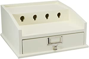 Organize It All Multi-Device Charging Station Dock & Organizer with Drawer