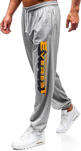 Sporthose Laufhose Jogger Fitness Trainingshose Sport Herren BOLF 6F6 Aufdruck
