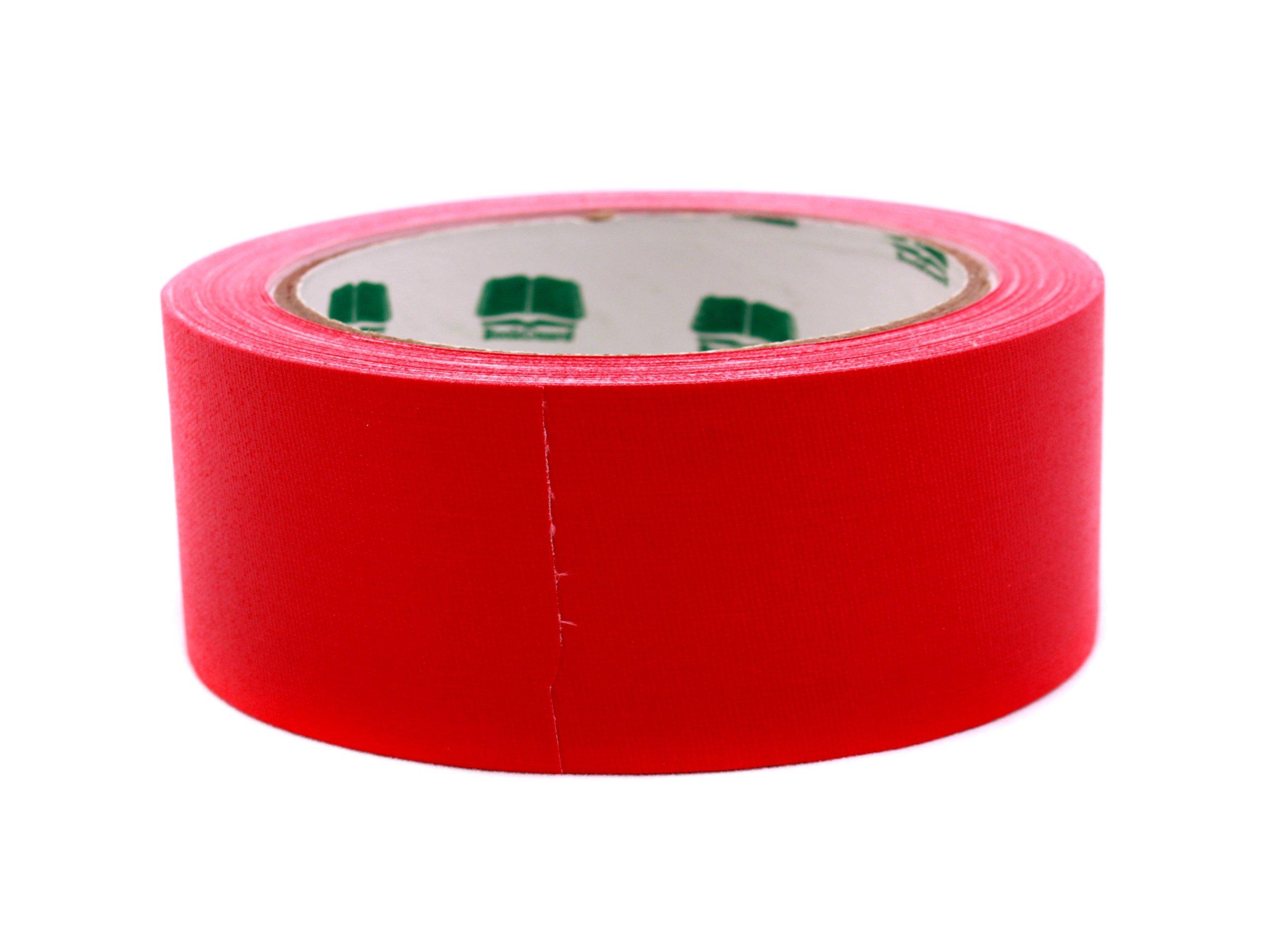 1-1/2'' Red Colored Premium-Cloth Book Binding Repair Tape | 15 Yard Roll (BookGuard Brand)