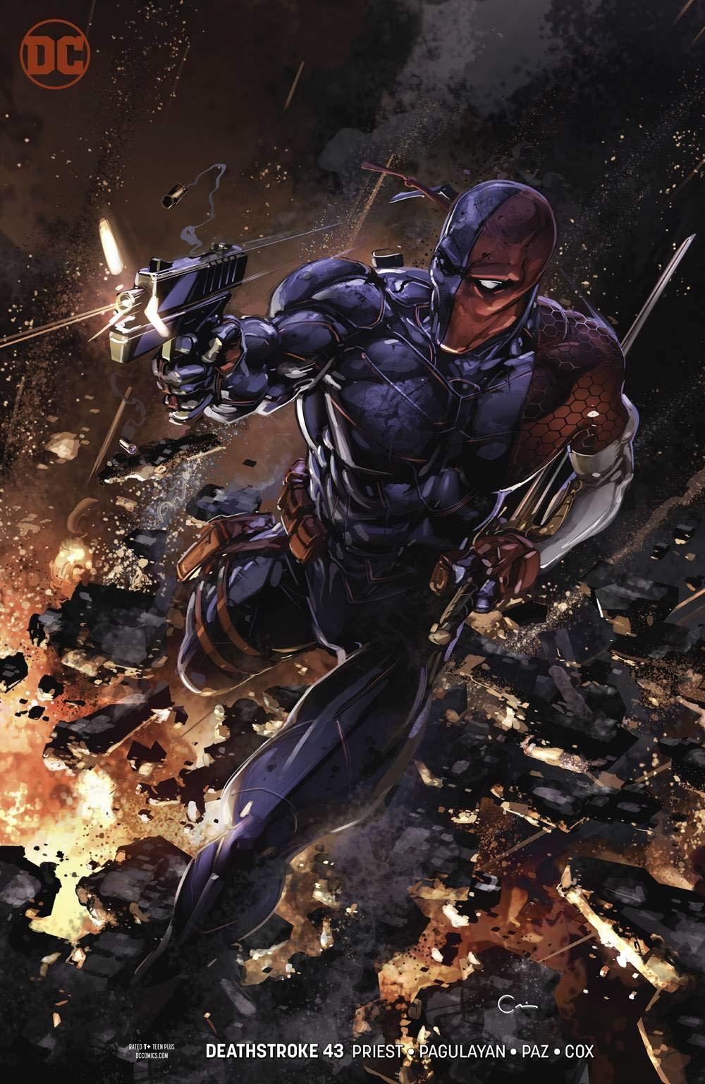 Deathstroke #43 Variant Edition Terminus Agenda: Clayton ...