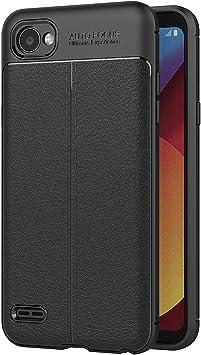 AICEK Funda LG Q6, LG Q6 Funda Negro Gel de Silicona LG Q6 ...