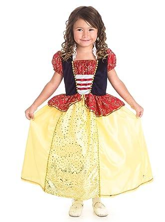 Amazon.com: Little Adventures Snow White Princess Dress Up Costume ...