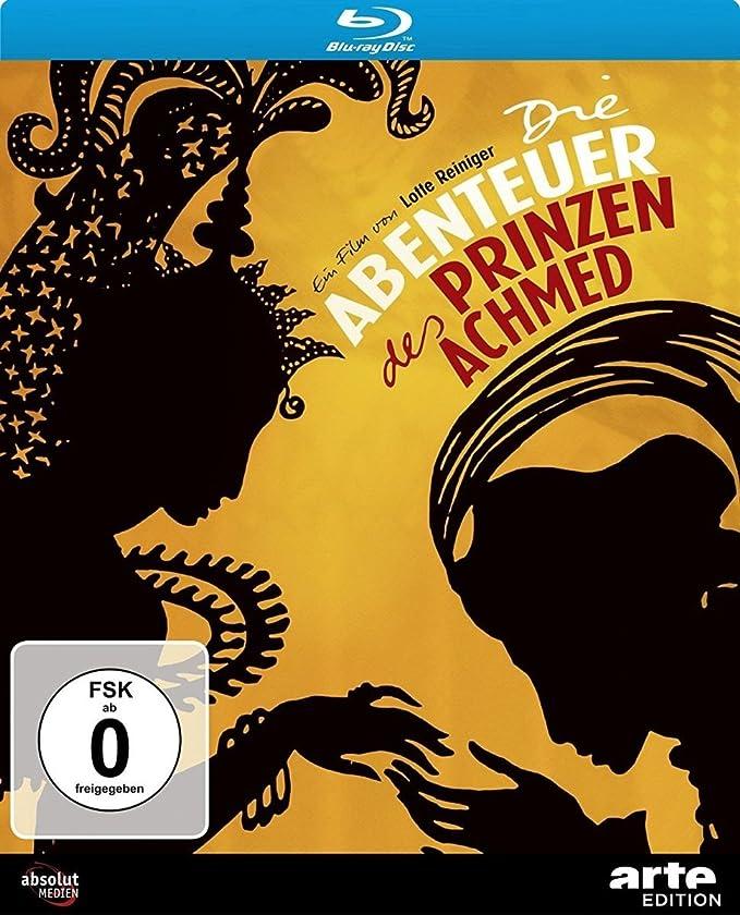 Die Abenteuer des Prinzen Achmed [Alemania] [Blu-ray]