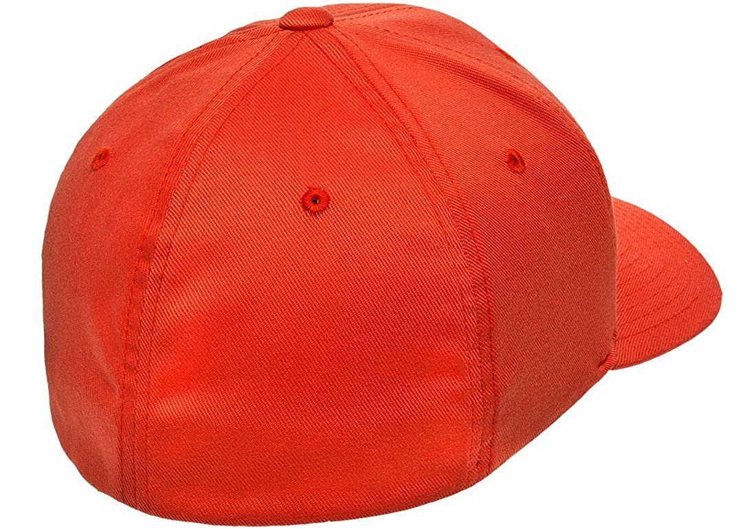 926fce4f Flexfit 6277 Wooly Combed Twill Cap - Large/XLarge (Spicy Orange) at Amazon  Men's Clothing store:
