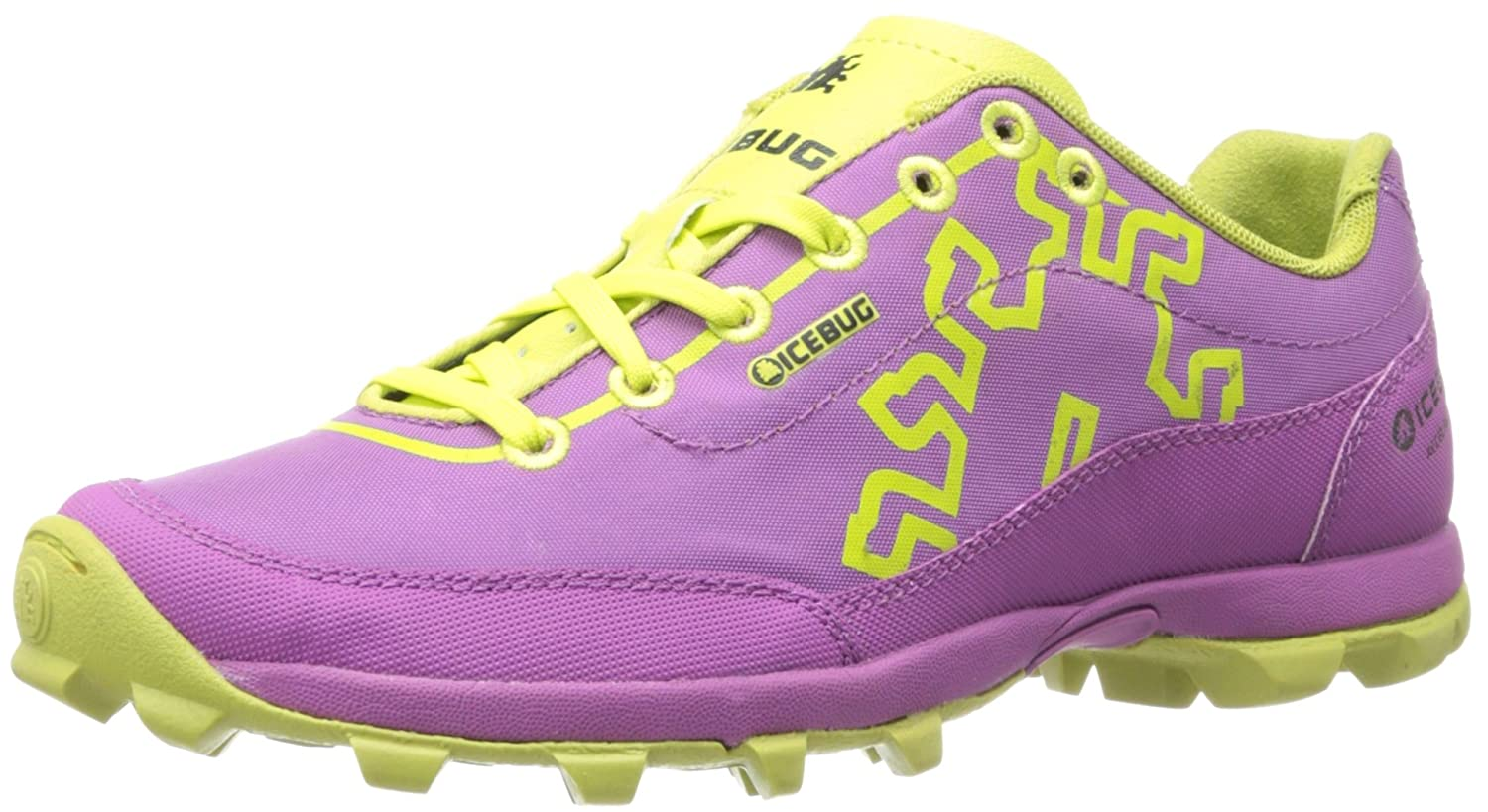 Icebug Women's Acceleritas4 RB9X Traction Running Shoe B00GQUT10I 10 B(M) US|Orchid/Poison