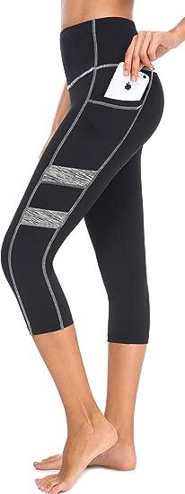 Neonysweets Women S Workout Leggings Phone Pocket Running Yoga Pants Amazon Ca Clothing Accessories