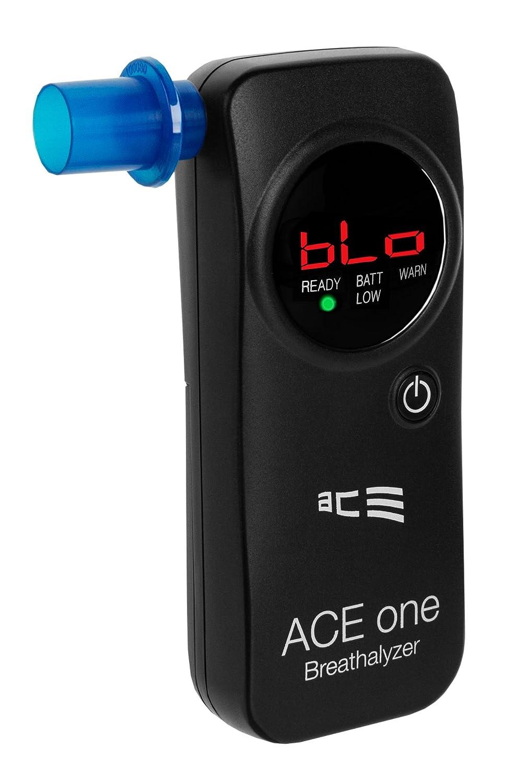 Alcol test con elettrochimica Sensore in 2 diverse Colori Nero ACE one
