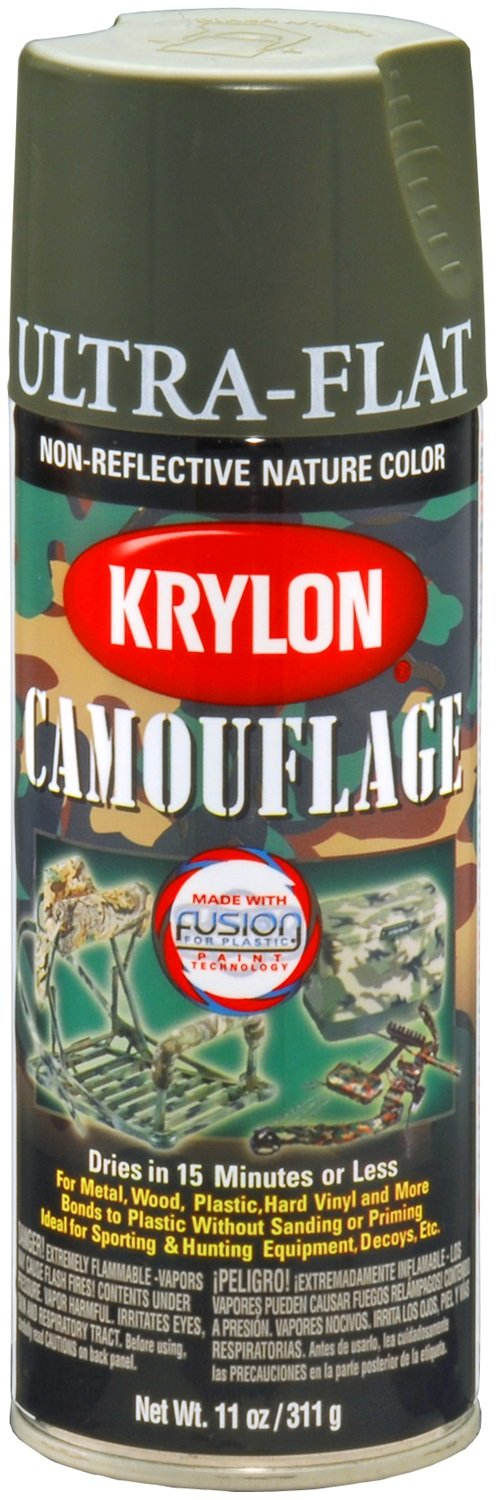 amazon com krylon k04293007 camouflage with fusion for plastic