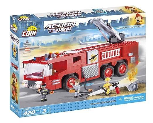 Cobi 1467 Flughafen Feuerwehr Aus Der Action Town Serie 420