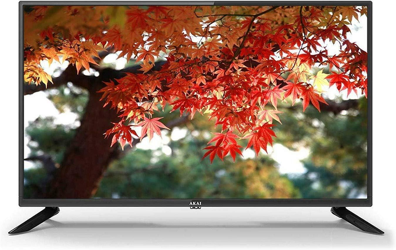 Akai TV AKTV3219 TV LED 32 pulgadas HD DVBT2/HEVC: Amazon.es: Electrónica