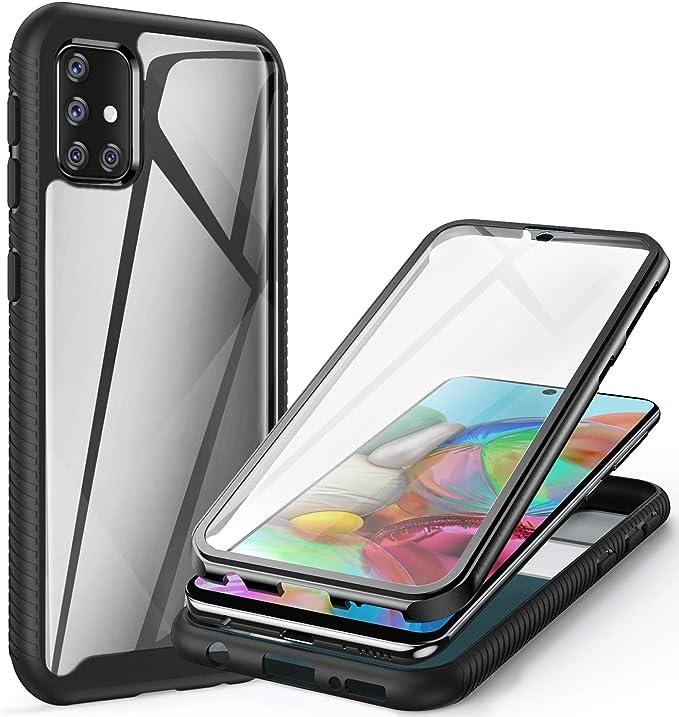 Ivencase Hülle Kompatibel Mit Samsung Galaxy A51 Elektronik