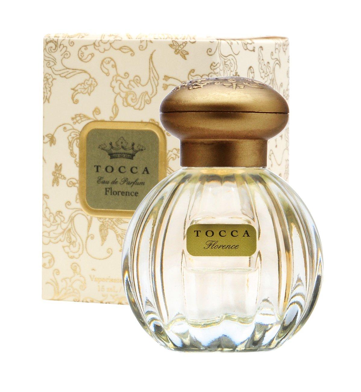 トッカ(TOCCA) ミニオードパルファム フローレンスの香り 15ml(香水 パリジェンヌの洗練された美しさを演出する、ガーデニアとスミレが漂う上品なフローラルの香り)