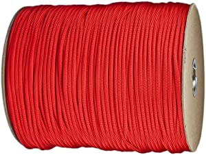 PARACORD PLANET Paracord (50+ Colors) - 1,000 Foot spools - 250 Foot spools - 100 feet Hank