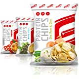 GOT7 Nutrition High Protein Chips, Sour Cream & Onion 6x50g