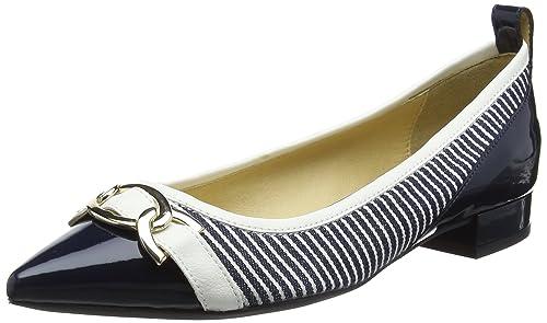 Womens D Happy a Closed Toe Heels, Blue Geox