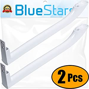 Ultra Durable 5304486359 Refrigerator Door Handle Replacement Part by Blue Stars - Exact Fit for Frigidaire Refrigerators - Replaces 5304506469 5304504507 242059501 242059504 - Pack of 2