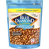 Blue Diamond Almonds Low Sodium Lightly Salted Snack Nuts, 40 Oz Resealable Bag (Pack of 1)