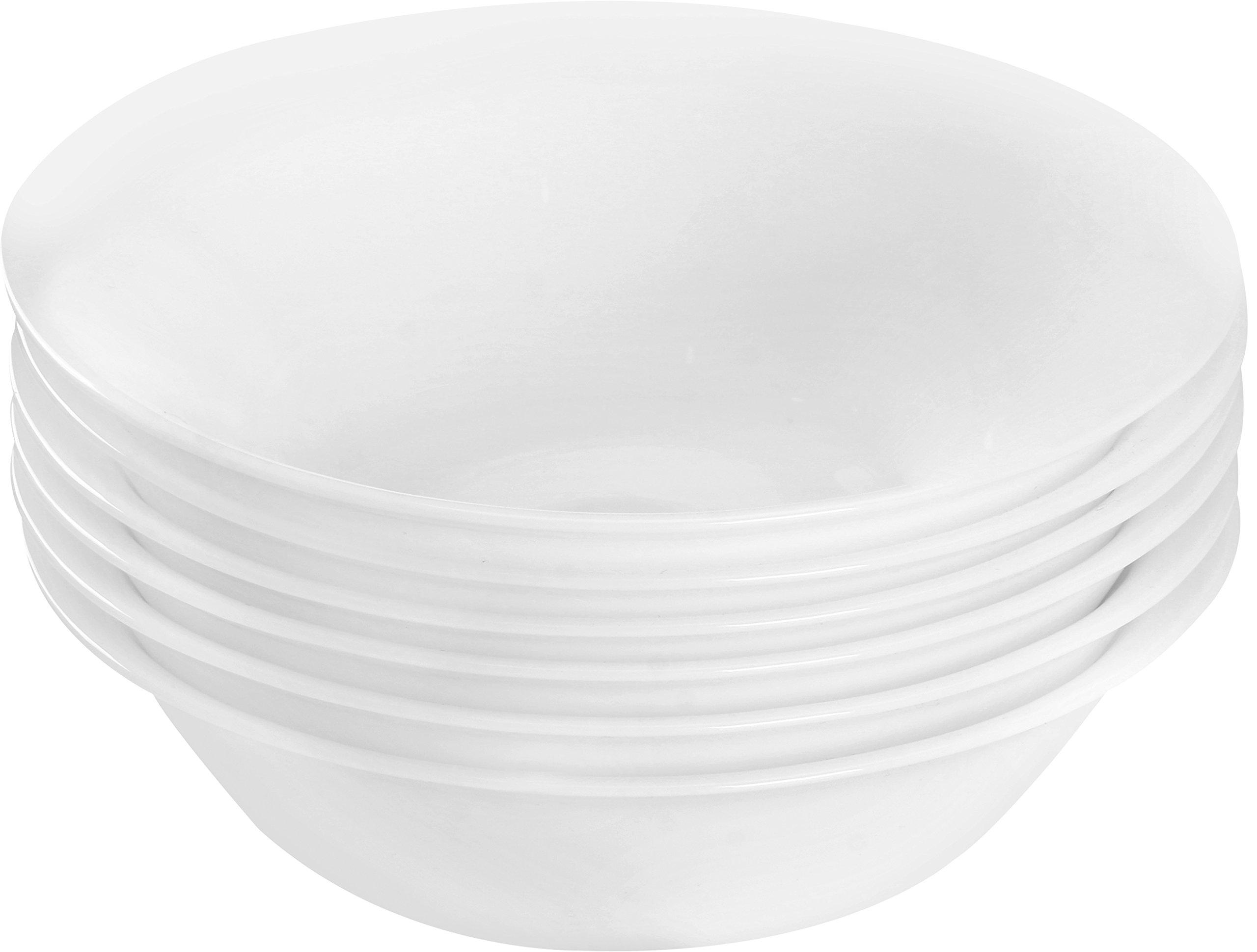 Utopia Kitchen 6 Pieces Bowl Set - Dishwasher Safe Opal Glassware - Microwave/Oven Friendly by Utopia Kitchen (Image #2)
