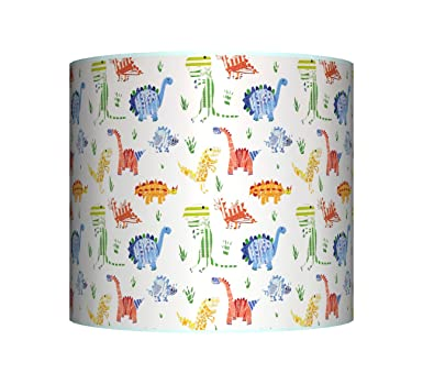 New dinosaur little dino ceiling lampshade 10 drum boys new dinosaur little dino ceiling lampshade 10quot drum boys blue mozeypictures Images