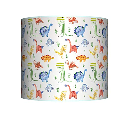 New dinosaur little dino ceiling lampshade 10 drum boys new dinosaur little dino ceiling lampshade 10quot drum boys blue mozeypictures Gallery