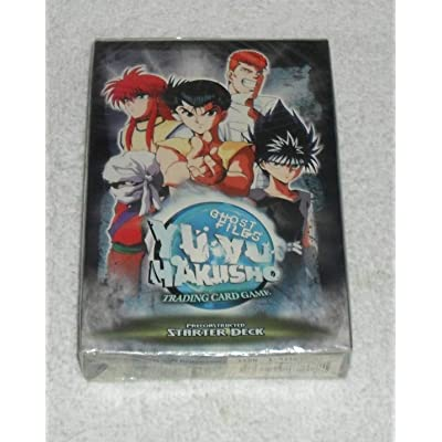 Yu-Yu Hakusho Trading Card Game - Ghost Files Starter Theme Deck: Toys & Games