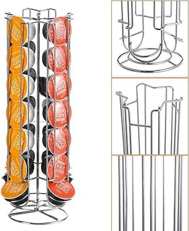 CHIMAKA Soporte giratorio para taza de cápsulas Holder Coffee Pod ...