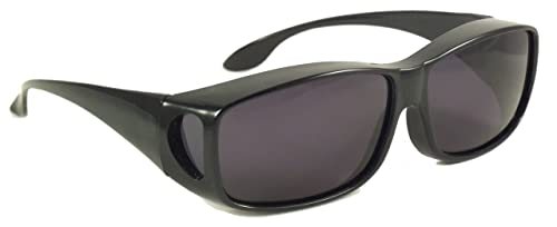 Sun Shield Fit Over - Gafas de sol con lentes polarizadas ...