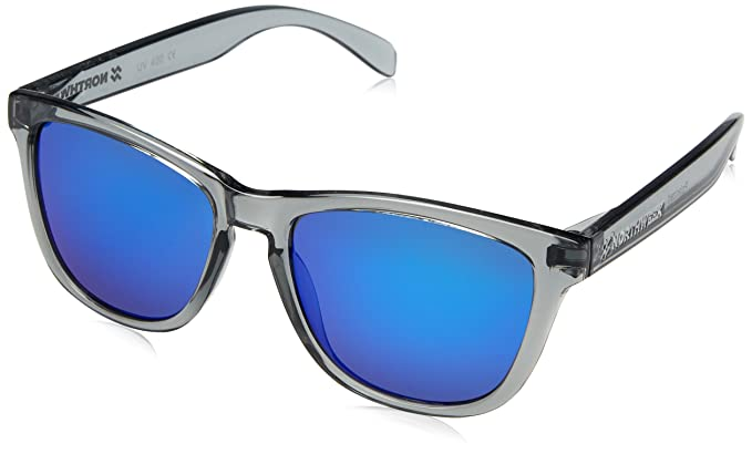 NORTHWEEK Regular Gafas de sol, Bright Grey/Blue Polarized, 45 Unisex